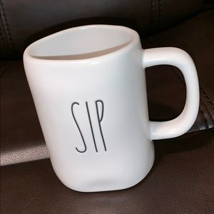 "• ""SIP"" Mug   Rae Dunn."